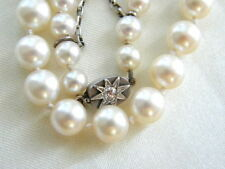 Pearl Necklace Silver Art Deco Fine Jewellery