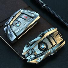 BMW Key Fob Shell Case in Metal Zinc Alloy for 1/2/3/4/5/6/7 Series,X1/2/3/4/5/6