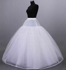 8 Layer Tulle Wedding dress Slips Full Hoopless Petticoat Underskirt Crinoline