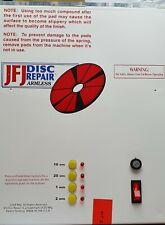 More details for jfj disc repair armless machine spares repairs