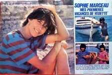 SOPHIE MARCEAU => COUPURE DE PRESSE 5 pages 1981 / FRENCH CLIPPING