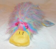Ganz Webkinz~Retired Plush~CANDY GOOGLES~HM430~New-Sealed/Unused Code~Platypus