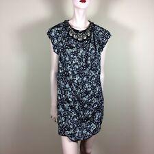 Phillip lim señora vestido s 36 negro geblümt túnica top elegante Glamour Style