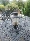 Vintage HANDLAN St. Louis Rail Lantern Clear Globe embossed N&W Norfolk