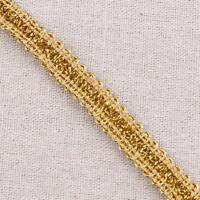 Gold Centipede Lace Trim Edge Sewing DIY Handcraft Wedding Ornament 10 Yards