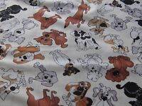 """DEAR DOGGIE DELIGHT""BY Loralie Designs.100% Cotton Fabric, By the yard"