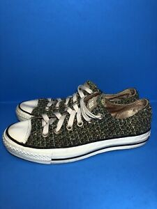 Converse CHUCK TAYLOR All Star Low Top Unisex Shoes Sneakers RARE COLOR Material
