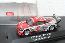 Audi TT-R ABT DTM 2003 Tomczyk #14 1:43 signed Orig Autogramm Autograph Box RAR