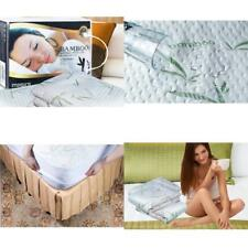 Bamboo Waterproof Mattress Hypoallergenic Deep Pocket Protector Full Size Cover