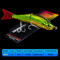 1PC Multi Jointed Swimbait 17.5cm 55g Trout Hard Artificail Bait Fishing Lures