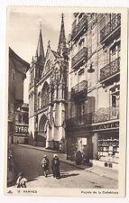 vannes  façade de la cathédrale