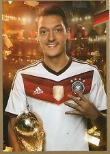 Limited, Limitierte Edition DFB Autogrammkarte! Mesut Özil!! RAR!!, Gold