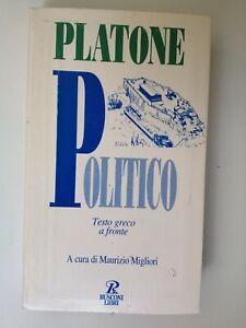 Platone - Politico - testo a fronte - testo integrale - Rusconi