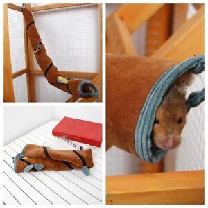 Small Animal Long Tunnel Hamster Tube 1PC Rat Ferret Toy Small Pet Warm Hammock