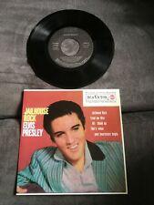 Disque 45 tours Elvis Presley - Jailhouse Rock - 3-20448 (neuf / mint)