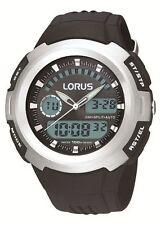 Sport Matte Analog & Digital Round Wristwatches
