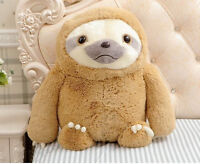 Handmade 16'' Sloth Plush Soft Toys Doll Stuffed Animal Birthday Christmas Gifts