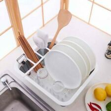 Dish Drainer Foldable Silicone Basket