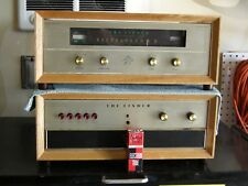 Fisher X-101-C Amplifier and KM-60 Tuner