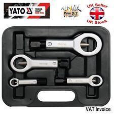 Yato Professional HEAVY DUTY NUT SPLITTER Remover Rusty Fit Cutter 4PCS 9-27mm