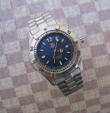 WOMEN'S TAG HEUER PROFESSIONAL 200m WRISTWATCH WITH BLUE DIAL (WK1313)