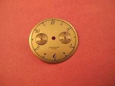 LANDERON 48 CHRONOGRAPH SUISSE GOLD TONE NOS DIAL                10