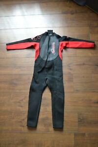 Kids Turbo TWF wet suit - 8-9y