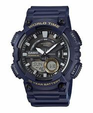 AEQ-110W-2A Blue Casio Men's Watches Standard 10-Year Battery AE-Q110W