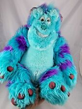 "Disney Monster's Inc Sulley Plush HUGE Sits 17"" Sully Just Play"