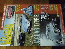 7µ?§ Revue Retro Hebdo n°160 Peugeot S57 Jaguar Type E 4CV Sport CORVETTE
