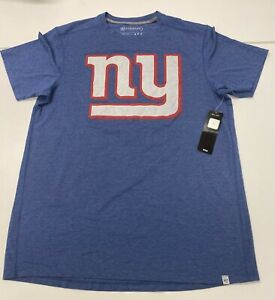 $38 NWT New York Giants '47 Forward Logo Tee T shirt NY NFL Big Blue MEDIUM M
