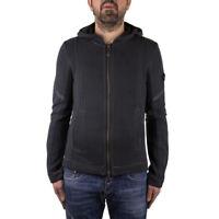 Armani Jeans Felpa Maglia Uomo Col Grigio tg S   -50 % OCCASIONE  