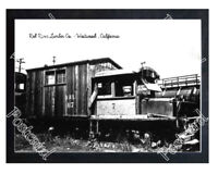 Historic Red River Lumber Co. - Westwood , California Train Postcard 1