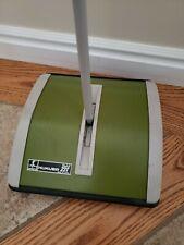 Vintage Hoky Hukuba 23T Green Carpet Floor Sweeper Push Vacuum Restaurant Home