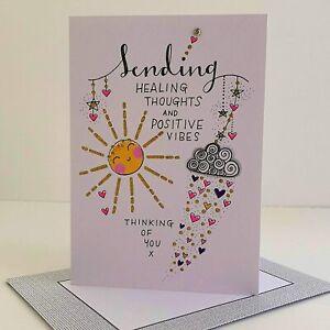 Rachel Ellen Card - Sending Healing Thoughts and Positive Vibes  - TLC Range
