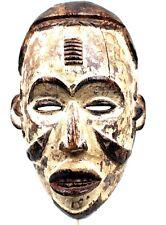Art Africain Tribal Ethnique Ethnologie - Masque Mmwo Igbo Ibo Nigéria - 30 Cms