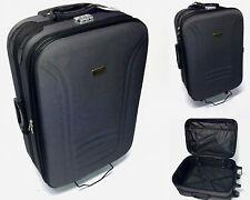 Koffer Set Trolley Reisekoffer Trolleys 3 er Set Schwarz Violett MC30008