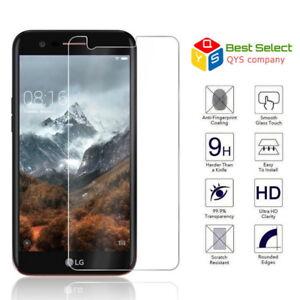 For LG Q6 G6 V20 V30 K10 Genuine Tempered Glass Film Screen Protector Protective