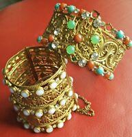 bracelet manchette et tour de bras orientale Ancien