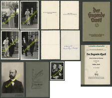 o. fotos y canción del libro de Schindler de Kunewald Dresden de Kunín Moravia 1890-1939