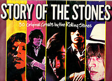 "THE ROLLING STONES.STORY OF THE STONES.UK ORIG ""A2/B3/C1/D1"" 2 LP's+INN/SL's.EX"