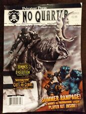 No Quarter Magazine Issue 12 & 13 Summer Rampage Hordes, Warmachine