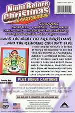 Night Before Christmas ...in Cartoontown  NEW DVD