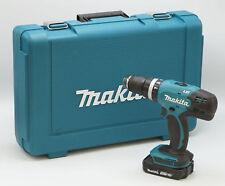 Makita DHP453 Y1J 18V Akku Schlagbohrschrauber inkl. Koffer, 1,5Ah Akku NEU