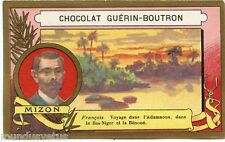 CHROMO Guérin-Boutron . Explorateurs. explorers.  MIZON