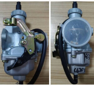 Carburetor PZ30 Carb 200cc 250cc Cable Choke for Dirt Motorized Bike ATV Quad