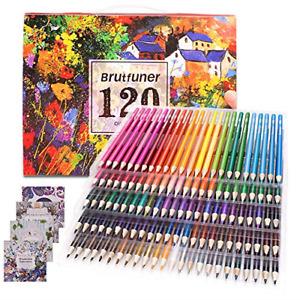 Colouring Pencils Adult Coloring Book Artist 120 Colour Pencil Set for Artists,
