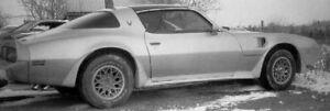 1970-1981 Pontiac Firebird Trans Am Showcars 4-piece Sideskirt Set