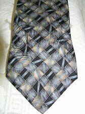 OLEG CASSINI Men's Silk Neck tie Multi-Color Made in USA Wonderful! Neckwear