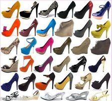LOT 65 Pairs Wholesale Women Fashion High Heels Platform Pumps Sandals Shoes